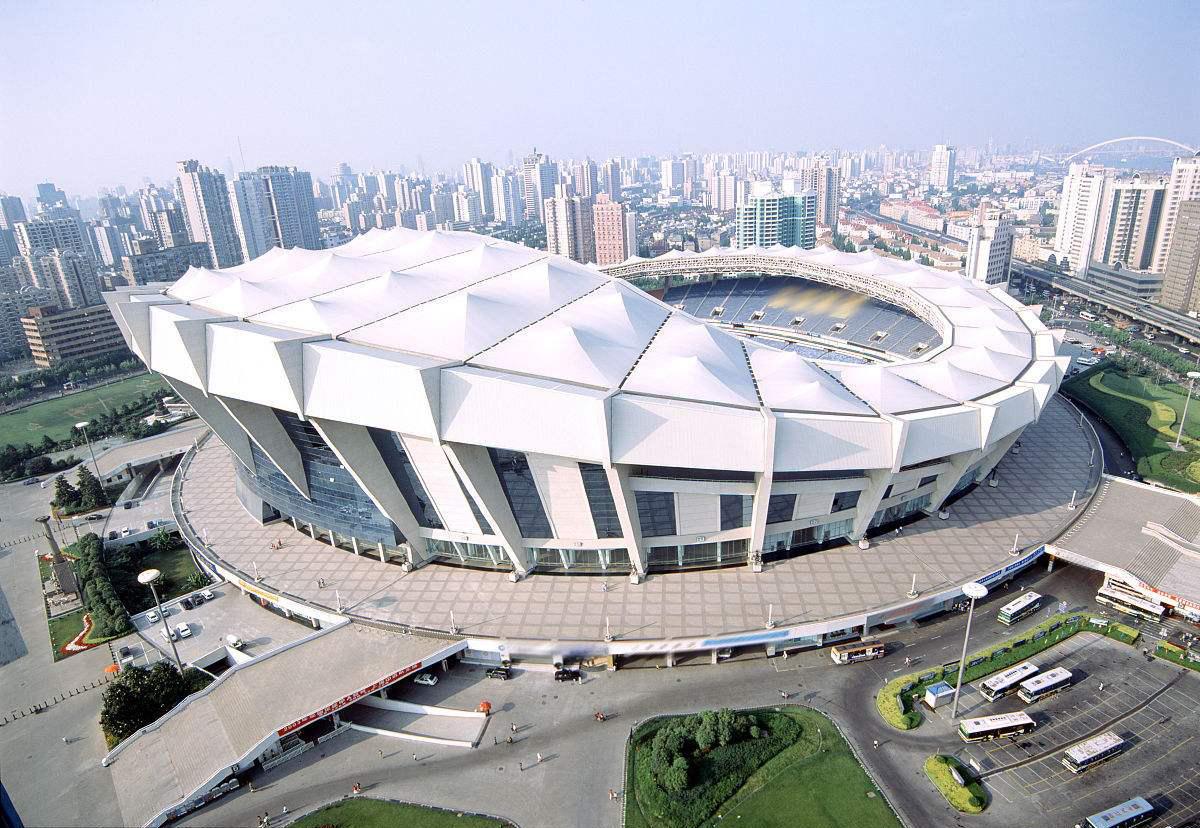 徐家汇体育公园上海体育场综合改造项目一期工程