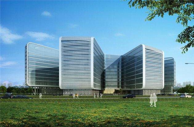 郑州龙子湖创意园孵化器建设项目幕墙工程